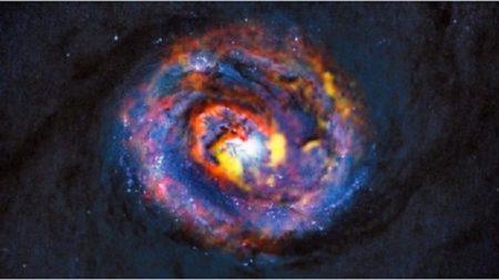 NASA confirma la primera emisión cíclica de rayos gamma de una galaxia activa