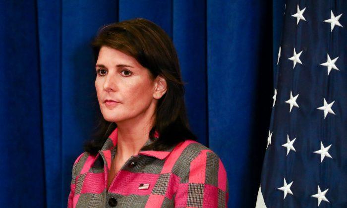 Renuncia Nikki Haley, embajadora de EE. UU. ante Naciones Unidas