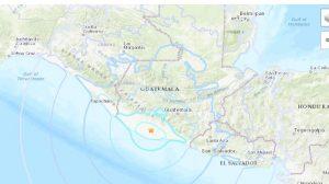 Terremoto en Guatemala de 5,6 grados estremece la costa de Nueva Concepción