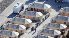 Vídeo muestra el interior de un albergue para niños inmigrantes en Texas