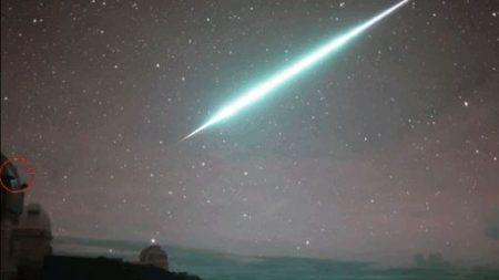Gran bola de fuego atravesó los cielos de Oregon, las autoridades desconocen su origen