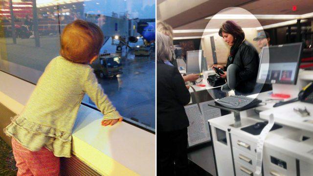 Un extraño compra un boleto de avión de 750 dólares para la hija de 2 años de un hombre destrozado
