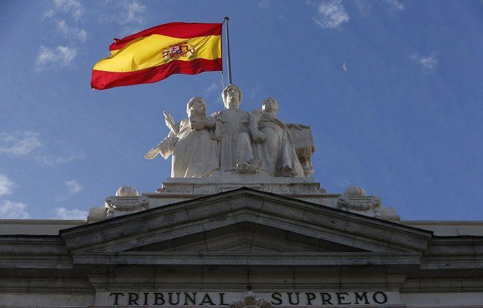 La Fiscalía española acusa de rebelión a los líderes independentistas catalanes. Vista de la fachada del Tribunal Supremo.( EFE)