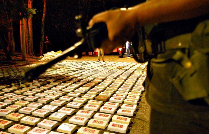 Según la DEA, el 93 % de la cocaína incautada en 2017 en territorio estadounidense proviene de Colombia. EFE/Archivo