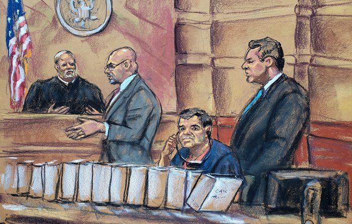 Siete mujeres y cinco hombres decidirán el futuro de Joaquín el Chapo Guzmán