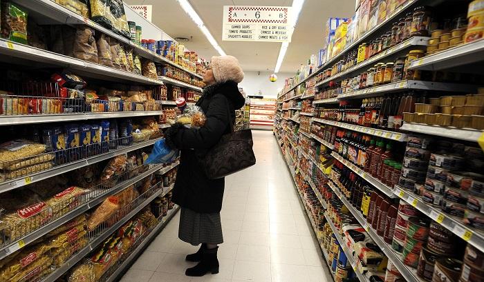 El índice de precios al consumo (IPC) creció un 0,3 % en octubre en Estados Unidos respecto al mes anterior, con lo que la tasa interanual se situó en el 2,5 %, anunció hoy el Gobierno. EFE/Archivo