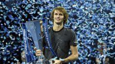 TENIS FINALES ATP: Un gran Zverev se corona nuevo campeón con tan solo 21 años