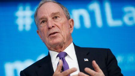 Bloomberg gasta hasta USD 58 millones en publicidad, mientras él y Steyer lideran el gasto en el campo 2020