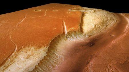Una nave de la NASA buscará señales de vida en un antiguo lago de Marte