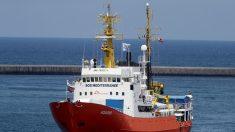 Investigan en Italia a personal de Médicos Sin Fronteras e inmovilizan Aquarius por residuos