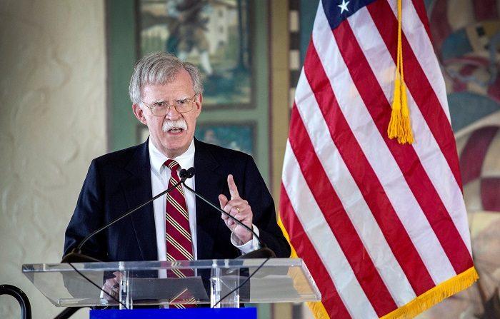John Bolton, el asesor de seguridad nacional del presidente estadounidense, Donald Trump. EFE/ Cristobal Herrera