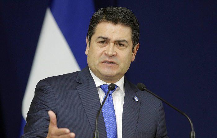 Detenido en EE.UU. un hermano del presidente de Honduras En la imagen un registro del presidente de Honduras, Juan Orlando Hernández. EFE/Archivo