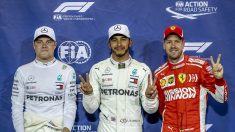 Hamilton logra otra 'pole' y Mercedes copa la primera fila en Yas Marina