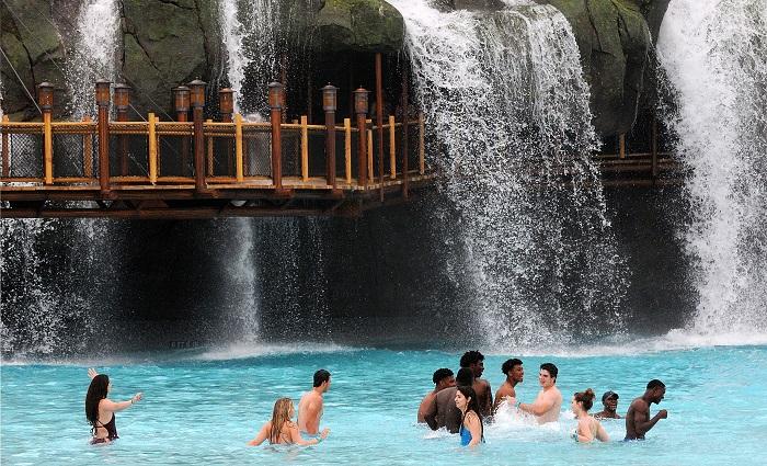 Visit Florida, el organismo oficial dedicado a la promoción turística del estado, calcula que 30,7 millones de turistas viajaron a la región en el tercer trimestre del año, un aumento del 10,1 % con respecto al periodo homólogo.  EFE/GERARDO MORA