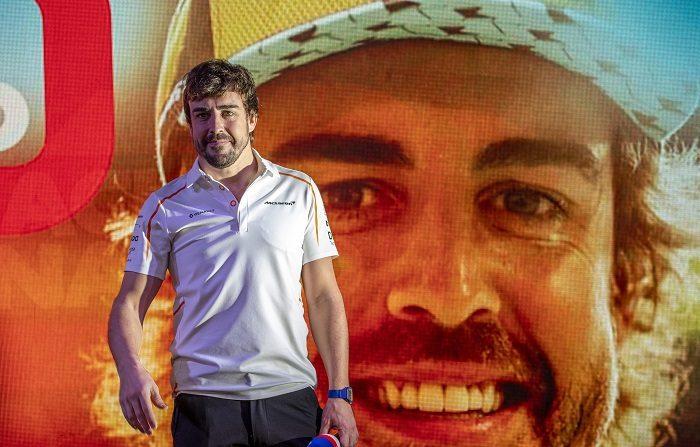 """El equipo """"Wayne Taylor Racing"""" ha informado este martes de que el español Fernando Alonso participará al volante de uno de sus Cadillac en las 24 horas de Daytona (Florida, EEUU), que se disputan del 26 al 27 de enero y que la escudería ganó en 2017. EFE/EPA/SRDJAN SUKI"""