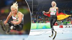 Corredora paralímpica pierde sus prótesis antes de una competencia y desata una cadena de solidaridad