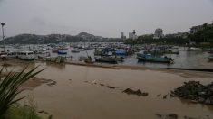 Tormenta tropical Xavier favorece lluvias en 3 estados del Pacífico mexicano
