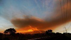 Cerca de 4 mil personas evacuadas por fuerte erupción de volcán de Fuego Guatemala