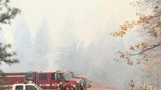 California sigue luchando contra el fuego a la espera de lluvia el miércoles