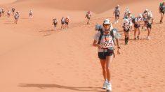 Ya tiene un ganador la agotadora maratón de 165 kilómetros en el desierto de Omán