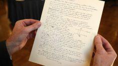 Carta de Einstein sobre sus temores al crecimiento del antisemitismo se subastó por 32.000 dólares