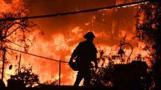 Drone capta devastación de incendios en California con 31 muertos y 200 desaparecidos