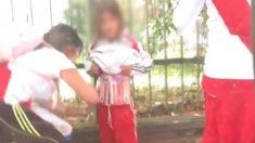 Detienen a la mujer que escondió bengalas en la ropa de un niño para entrar a la Superfinal