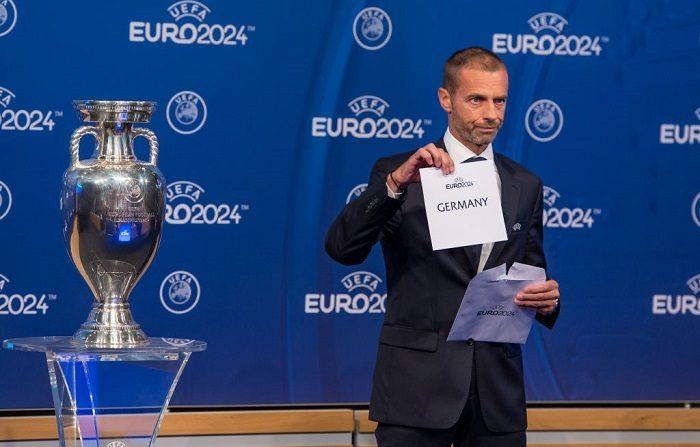 El presidente de la UEFA, Aleksander Ceferin, candidato a las elecciones a la presidencia de la UEFA. (Foto de Robert Hradil/Bongarts/Getty Images)
