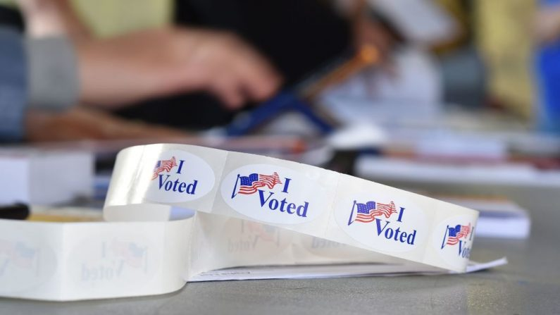 Elecciones de Medio Período Presidencial el 6 de noviembre de 2018, California, EE.UU, (ROBYN BECK/AFP/Getty Images)