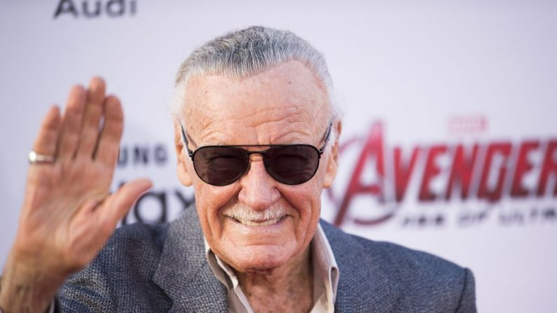 "Stan Lee en la premiere de ""Avengers: Era de Ultron"" el 13 de abril de 2015 en Hollywood, California.  (ROBYN BECK/AFP/Getty Images)"