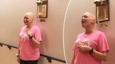 Su victoria contra el cáncer se hizo viral pero ahora enfrenta otra batalla contra la cruel enfermedad