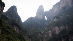 La puerta al cielo sí existe: está en la Montaña Tianmen de China