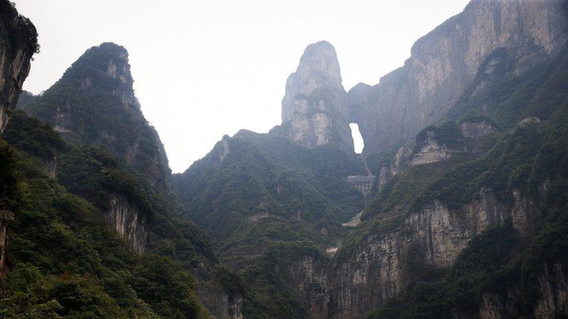 Montaña Tianmen (Crédito: LintaoZhang/GettyImages)