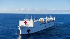 Buque hospital USNS Comfort llega a Colombia para atender a colombianos y migrantes venezolanos