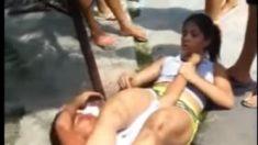 Intentan robar celular a luchadora de artes marciales en Manaos y la joven reacciona