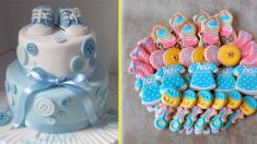 ¡Haz que tu baby shower sea chic y alegre con estas ideas súper creativas!