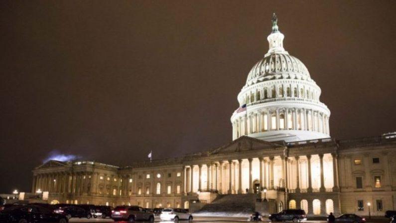 Edificio del Capitolio en Washington DC, el 29 de enero de 2018. (Samira Bouaou /La Gran Época)