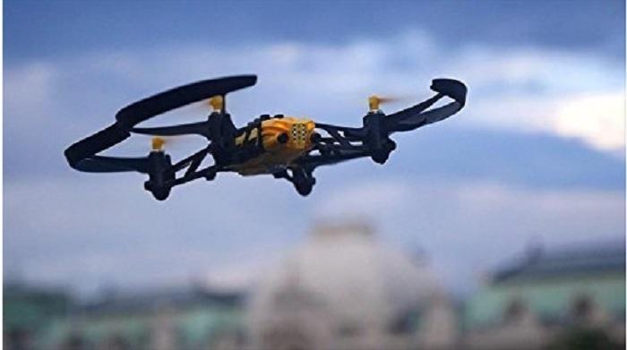 Imagen de un dron. UPM/EFE