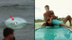 Este salvavidas perdió a su hijo y no permite que ninguna vida muera en el mar. Mira este rescate