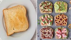 Transforma una pálida tostada en el desayuno más colorido y nutritivo de tus mañanas