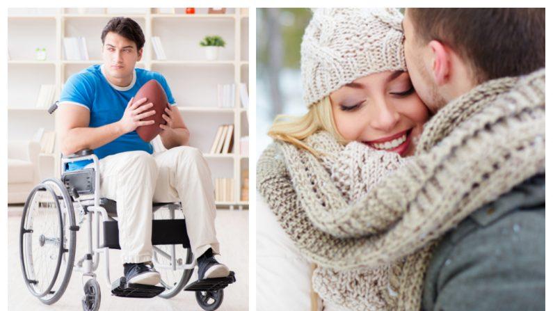 Famoso jugador de rugby queda paralizado, pero el amor y el cuidado de su novia hacen milagros