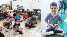 """Alumnos de una escuela mexicana mejoran su conducta gracias a sus """"clases de paz"""" que les encantan"""