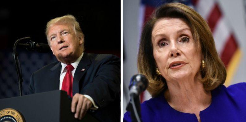 Trump elogia a Nancy Pelosi y convoca al bipartidismo después de perder la Cámara de Representantes
