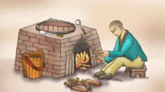 Historias de la antigua China: Cómo se iluminó un joven monje