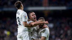 2-0. El Real Madrid aumenta el compromiso, supera al Valencia