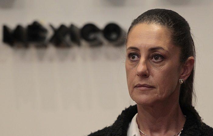 La jefa de Gobierno de Ciudad de México, Claudia Sheinbaum. EFE/Mario Guzmán