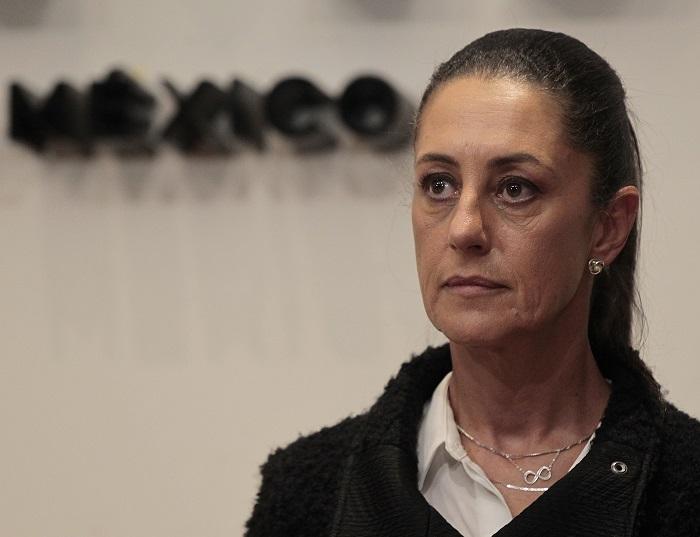 Alcaldesa de Ciudad de México Claudia Sheinbaum da positivo por COVID-19