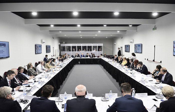 La Organización para la Seguridad y la Cooperación en Europa (OSCE) celebra desde mañana y hasta el viernes una cumbre ministerial en Milán (norte) en la que el conflicto entre Rusia y Ucrania en el mar de Azov será el tema prioritario. EFE