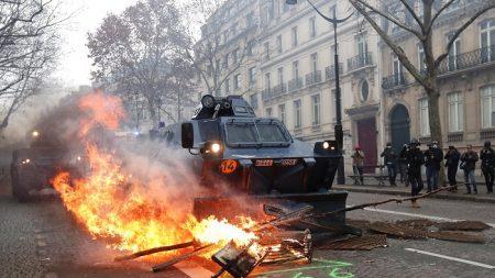 Las protestas en Francia reúnen a 125.000 personas, con 1385 detenidos