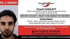Un amplio dispositivo de búsqueda intenta cercar al terrorista de Estrasburgo
